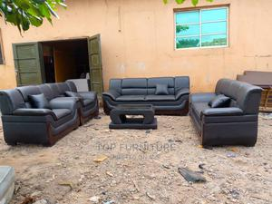 Seven Seaters Coffee Brown Chair | Furniture for sale in Lagos State, Ikeja