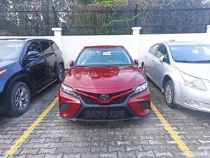 Toyota Camry 2018 SE FWD (2.5L 4cyl 8AM) Red | Cars for sale in Lagos State, Lekki