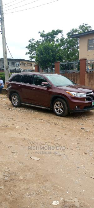 Toyota Highlander 2016 Red | Cars for sale in Lagos State, Isolo