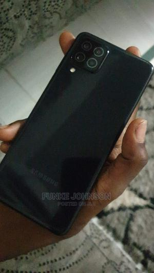 Samsung Galaxy A22 64 GB Black | Mobile Phones for sale in Lagos State, Surulere