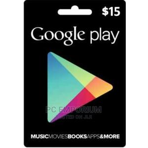 Google Play Gift Card (US) - $15   Accessories & Supplies for Electronics for sale in Abuja (FCT) State, Gudu