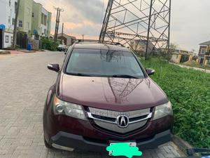 Acura MDX 2007 SUV 4dr AWD (3.7 6cyl 5A) Red | Cars for sale in Lagos State, Magodo