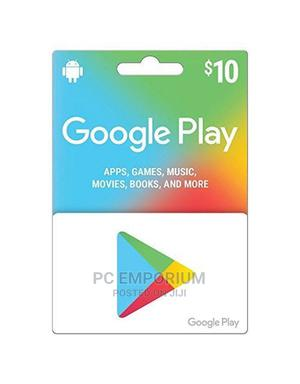 Google Play Gift Card (US) - $10   Accessories & Supplies for Electronics for sale in Abuja (FCT) State, Gudu
