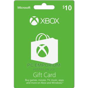 Xbox Live Gift Card - $10   Accessories & Supplies for Electronics for sale in Abuja (FCT) State, Gudu