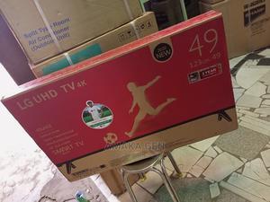 LG TV 49inches Smart TV Netflix Youtube Wi-Fi 2 Av 2 HDMI | TV & DVD Equipment for sale in Lagos State, Ojo