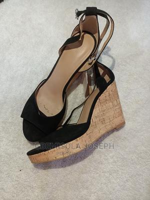 Elegant Black Sandals | Shoes for sale in Lagos State, Agboyi/Ketu