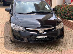 Honda Civic 2007 1.8i-Vtec LXi Automatic Black   Cars for sale in Abuja (FCT) State, Karu