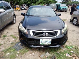 Honda Accord 2008 2.0 Comfort Black | Cars for sale in Lagos State, Amuwo-Odofin