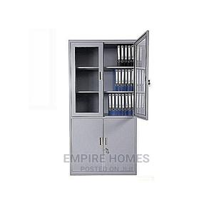 Standard Modern Steel Filling Cabinet With Swing Half Glass   Furniture for sale in Lagos State, Ojo