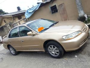 Honda Accord 2001 Coupe Gold   Cars for sale in Lagos State, Surulere