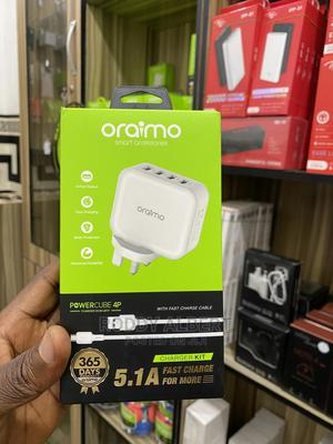 Original Oriamo Super Fast Four Charger | Accessories for Mobile Phones & Tablets for sale in Rivers State, Port-Harcourt