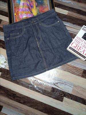 Thrift Mini Jean Skirt   Clothing for sale in Anambra State, Awka