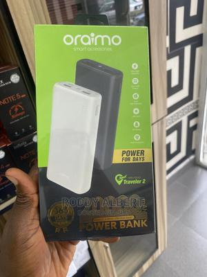Super Fast Oraimo 20000MAH Power Bank Available | Accessories for Mobile Phones & Tablets for sale in Rivers State, Port-Harcourt