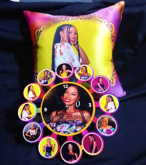 Throw Pillow,Wall Clock and Frame | Printing Services for sale in Lagos State, Abule Egba