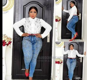 Quality Turkey Ladies Jeans Trouser and Top Available | Clothing for sale in Lagos State, Ikeja