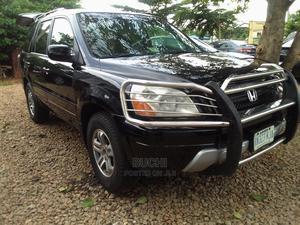Honda Pilot 2004 EX 4x4 (3.5L 6cyl 5A) Black | Cars for sale in Abuja (FCT) State, Gwarinpa