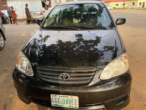 Toyota Corolla 2004 S Black | Cars for sale in Delta State, Oshimili South