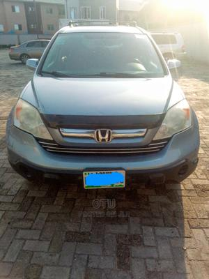 Honda CR-V 2008 2.4 EX-L 4x4 Automatic Blue | Cars for sale in Lagos State, Ajah