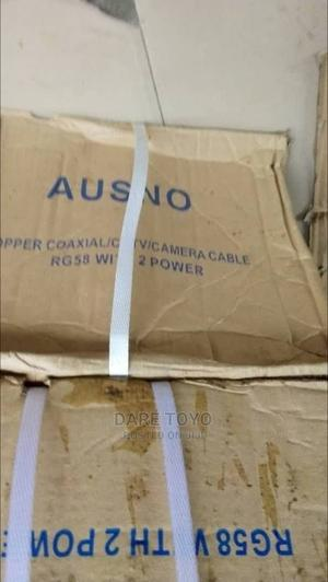 Asuno 305m RG58 CCTV Coaxial Cable | Security & Surveillance for sale in Lagos State, Ikoyi