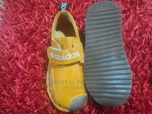 Baby Leather Abidas Sneaker | Children's Shoes for sale in Lagos State, Isolo
