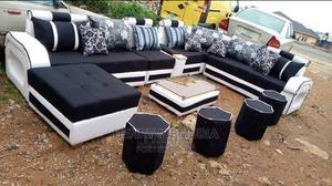 Beautiful Sofa Ushape With Center Table.   Furniture for sale in Lagos State, Ikeja