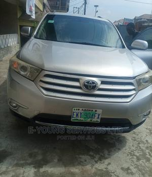 Toyota Highlander 2012 Silver   Cars for sale in Lagos State, Isolo