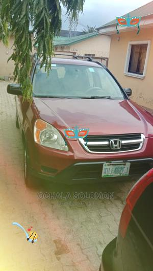 Honda CR-V 2003 EX 4WD Automatic Red | Cars for sale in Abuja (FCT) State, Gwarinpa
