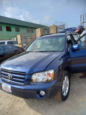 Toyota Highlander 2006 Blue   Cars for sale in Lagos State, Ikorodu