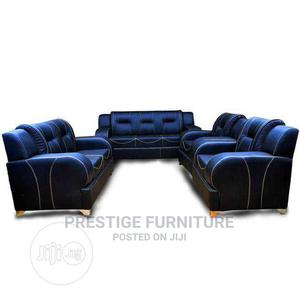 7 Seater of a Well Made Leather Chair   Furniture for sale in Lagos State, Ikeja