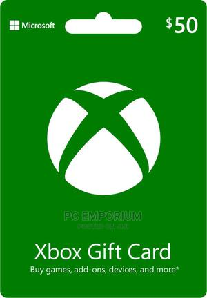 Xbox Live Gift Card - $50 | Accessories & Supplies for Electronics for sale in Abuja (FCT) State, Gudu