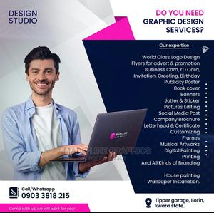 Graphics Designer | Computer & IT Services for sale in Kwara State, Ilorin South