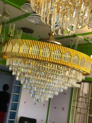 Big Size Modern Luxury Crystal Chandelier Lighting Fixturing   Home Accessories for sale in Lagos State, Agege