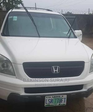 Honda Pilot 2005 EX 4x4 (3.5L 6cyl 5A) White   Cars for sale in Lagos State, Ogudu
