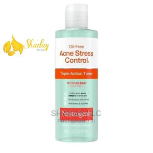 Neutrogena Oil Free Acne Stress Control Wash 8 FL Oz   Skin Care for sale in Lagos State, Ojo