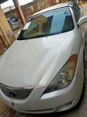 Toyota Solara 2005 White   Cars for sale in Lagos State, Ikeja