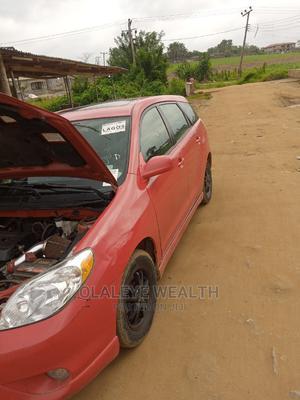 Toyota Matrix 2005 Red | Cars for sale in Osun State, Oriade