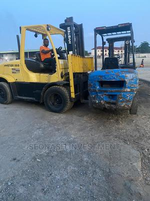 Foreign Used 7 Tons Hyster Forklift   Heavy Equipment for sale in Lagos State, Ikeja