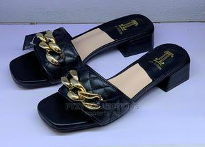 Low Blocked Heel Slippers   Shoes for sale in Lagos State, Lekki
