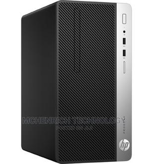 New Desktop Computer HP ProDesk 400 G4 4GB Intel Core I5 HDD 500GB | Laptops & Computers for sale in Lagos State, Ikeja