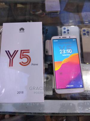New Huawei Y5 16 GB Gold | Mobile Phones for sale in Lagos State, Ikeja