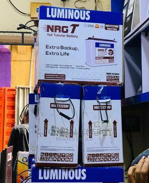 220ah Luminous Tall Tubular Battery   Solar Energy for sale in Lagos State, Badagry