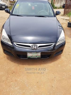 Honda Accord 2007 Black   Cars for sale in Lagos State, Yaba
