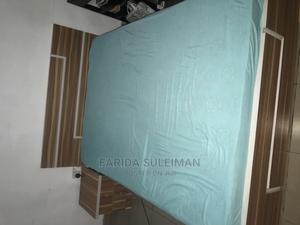 4/6 Bed Frame, Mattress, and Side Table | Furniture for sale in Abuja (FCT) State, Gwarinpa