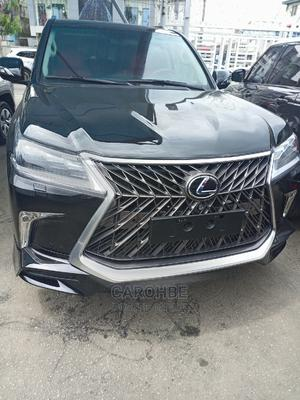 Lexus LX 2021 570 (5 Seats) AWD Black | Cars for sale in Lagos State, Ikeja