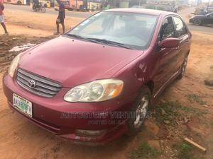 Toyota Corolla 2004 S Red | Cars for sale in Lagos State, Ikorodu