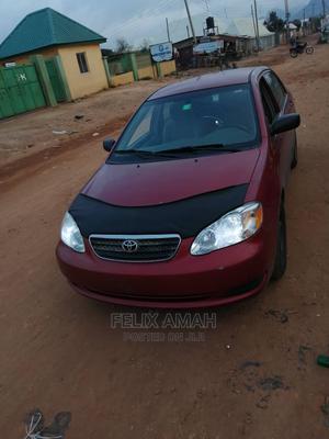 Toyota Corolla 2005 CE Red   Cars for sale in Abuja (FCT) State, Dei-Dei