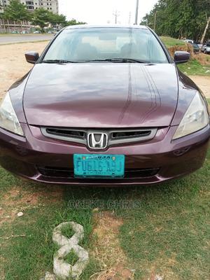 Honda Accord 2004 Red | Cars for sale in Abuja (FCT) State, Gwagwa