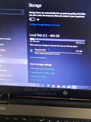 Laptop HP 4GB AMD HDD 500GB   Laptops & Computers for sale in Kwara State, Ilorin South