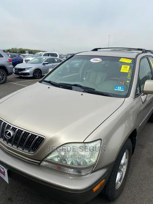 Lexus RX 2002 Gold | Cars for sale in Lagos State, Ejigbo