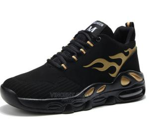 Black Gold Sneakers | Shoes for sale in Lagos State, Isolo